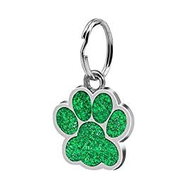 BANGBANGSHOP Fashion Anti-lost Pet ID Tag Jewelry Gift Mini Paw Pattern Puppy Dog Cat Safe Collar Pendant
