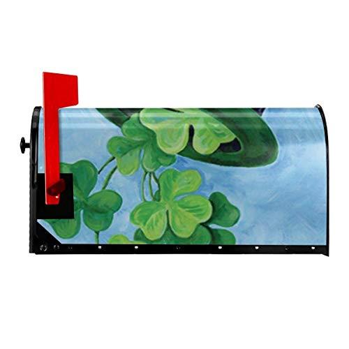 Odeletqweenry Mailbox met print en magnetische post, standaard afmeting 21 x 18 inch, waterdicht canvas