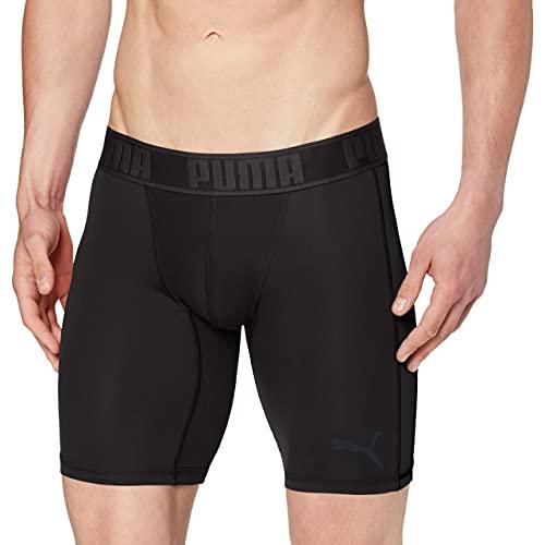 PUMA Herren Active Long Boxer 1P Packed Unterwäsche, Black, XL