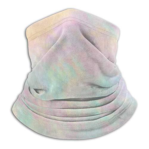 Holographic Iridescent Pink Orange Sommer Atmungsaktive Sonnenschutz Kopftuch Reitmaske Multifunktions Kopfbedeckung Anti-UV-Maske
