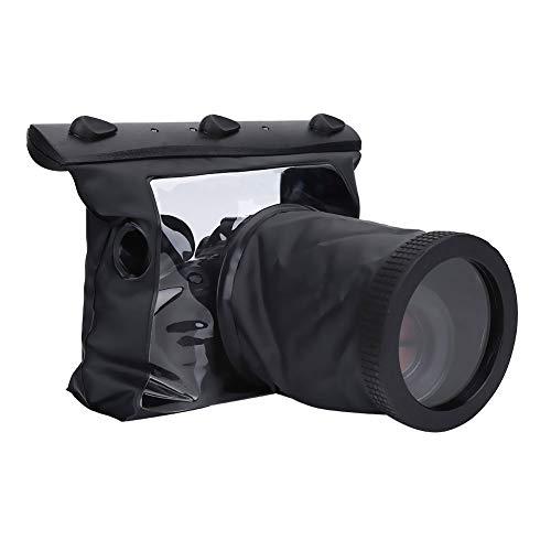 Diyeeni Carcasa Resistente al Agua de la cámara, Carcasa estanca HD Sumergible, Estuche de Buceo con Bolsa Seca para cámara réflex Digital SLR