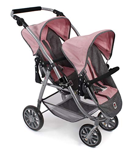 Bayer Chic 2000 689 15, Carrito de muñecas, color rosa, 71 x 47 x 79 cm , color/modelo surtido