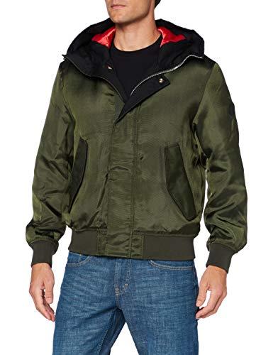 Armani Exchange Mens Blouson Jacket, Rosin, XX-Large