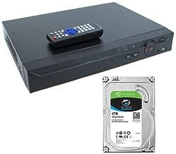 16 Channel XVR 4K 4MB IP DVR CVI TVI AHD Recorder CCTV 4TB OEM Dahua