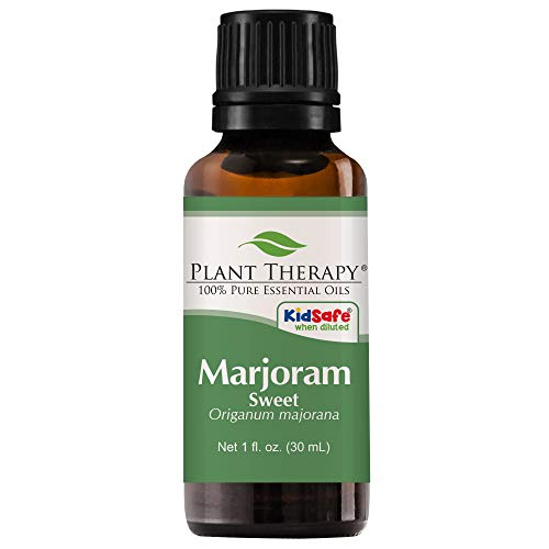 Plant Therapy Sweet Marjoram Essential Oil 30 mL (1 oz) 100% Pure, Undiluted, Therapeutic Grade