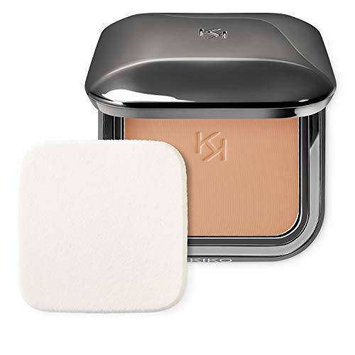 KIKO Milano Weightless Perfection Wet And Dry Powder Foundation N95-08 | Base compacta en polvo uniformadora de acabado mate, SPF 30