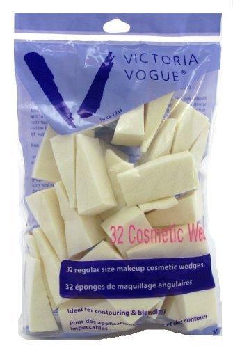 Victoria Vogue Eponges triangulaires (32) - latex