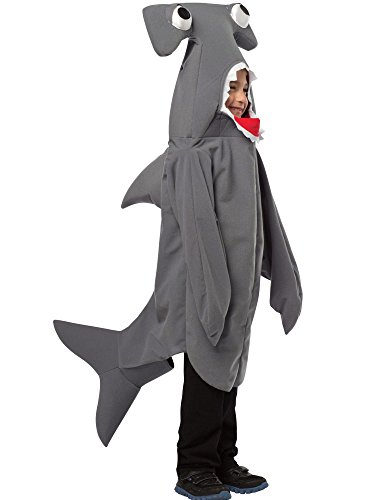 Rasta Imposta Childrens Costume, Hammerhead Shark, 7-10