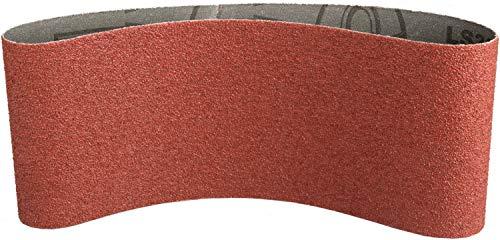 Klingspor 4125 Schleifband für Handbandschleifer LS 309 XH, 75X480 mm, 10 Stk. Korn: 120