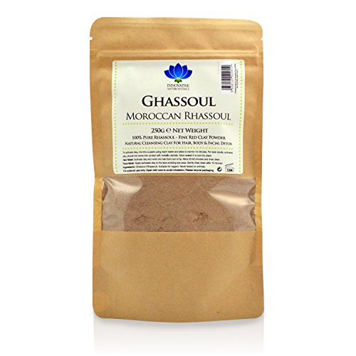 Ghassoul Clay – 250 g paquete – Pure marroquí Rhassoul