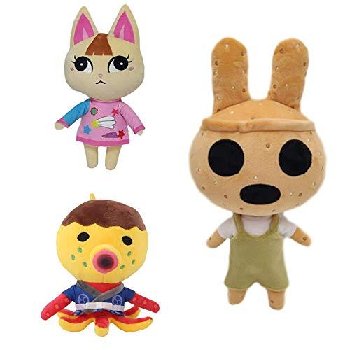 XIAN Gästehung 3 Teile/Satz 30 cm Kreuzung plüsch Spielzeug Puppe, Zucker Frohe Coco plüsch Spielzeug weich gefüllte Anime plüsch Spielzeug Kinder Kinder Geschenke hailing