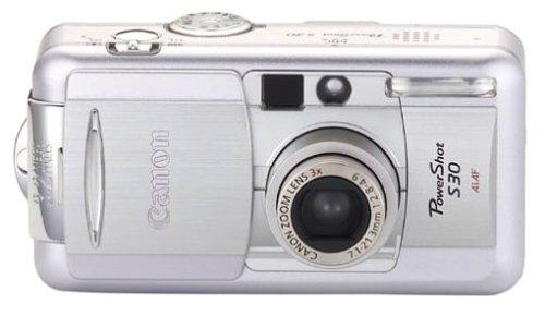 Canon PowerShot S30 Digitalkamera (3,2 Megapixel)