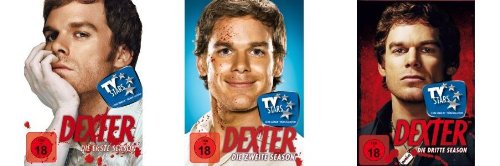 Dexter - Season/Staffel 1-3 Set deutsch [12 DVDs]