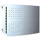 Copri condizionatore Bianco con porta forata (80 X 85 X 44 cm)