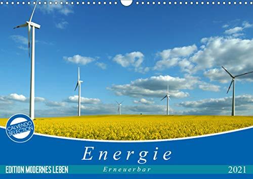 Energie - erneuerbar - Biomasse (Wandkalender 2021 DIN A3 quer)