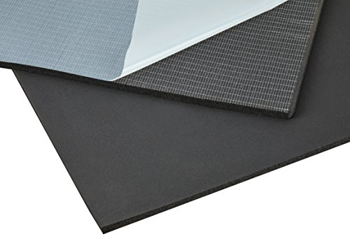 baytronic DSM Dämmschaummatte feinporig, selbstklebend 0,5m x 0,5m x 10mm (0,25m²)