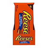 REESE'S Milk Chocolate filled with REESE'S Peanut Butter Extra Large Candy, Easter, 4.25 oz Bars (12 Count)
