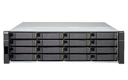 QNAP 16-Bay SAS 12Gb/s JBOD Enclosure for ZFS NAS 2 Mini-SAS SFF-8644 for Each Controller RP mit Rail Kit