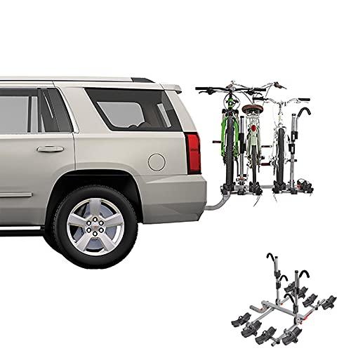 HXXXIN Car Trailer Hook Bike Rack Mountain Snow Bike Rack Car Carrying 20-29 Inch (51-74Cm) Tire Bicycle,four cars