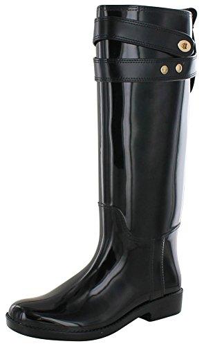 ladies coach rain boots - 2