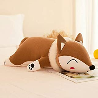 EXTOY 60-120Cm Giant I Fox Plush Toys Soft Plush Pillow Cute Fox Stuffed Animals Back Cushion Toys for Children Girls Xmas Gift Must Have Toys Gift Ideas Favourite Superhero Cupcake Toppers
