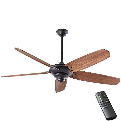 Home Decorators Collection Kensgrove 54 In Integrated Led Indoor Espresso Bronze Ceiling Fan With Light Kit And Remote Control Brickseek
