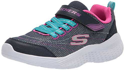 Skechers Snap Sprints Eternal Shine 302455L/NVMT Sneakers Mädchen Blau, Schuhgröße:33 EU