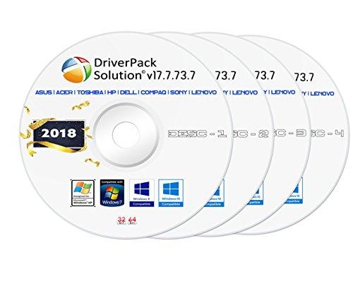 DriverPack Solution v17.7.73.7 [ 4-DVD Pack ] [ Offline Software 16.30 GB Version ]