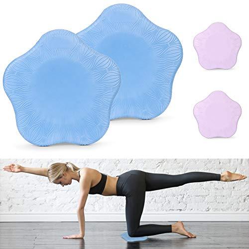 Rodilleras Yoga, 2 Piezas Colchonetas de Yoga Las Rodillas, Almohadilla de Apoyo para Yoga Proteger Rodillas, Codos