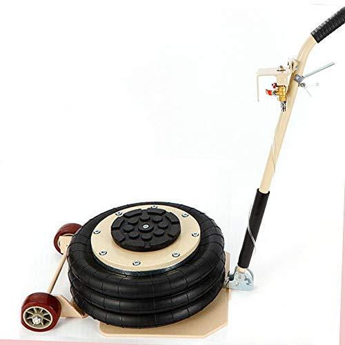 3T Gato Hidráulico Neumático, Elevador de Aire Comprimido con 3 Anillos de Presión de Aire para Automóviles coche