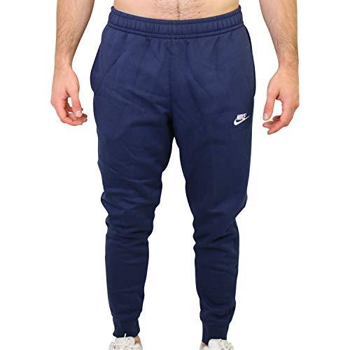Nike M NSW Club JGGR BB Pantalon de Sport Homme Bleu (Midnight Navy/White), S