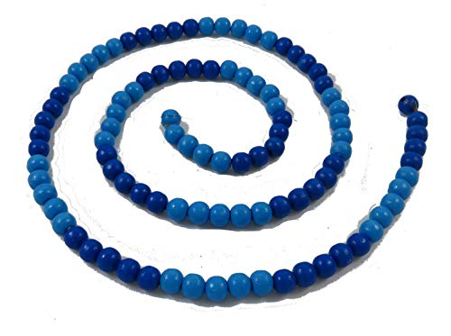 Green Future Pflanzenhandel Montessori Perlenmaterial Hunderterkette Rechenkette Farbwahl Kraft der 5