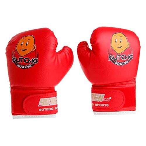 WT-DDJJK Guantes de Boxeo, Saco de Boxeo de Dibujos Animados para niños Guantes de Boxeo de Combate Entrenamiento Lucha Edad 3-12