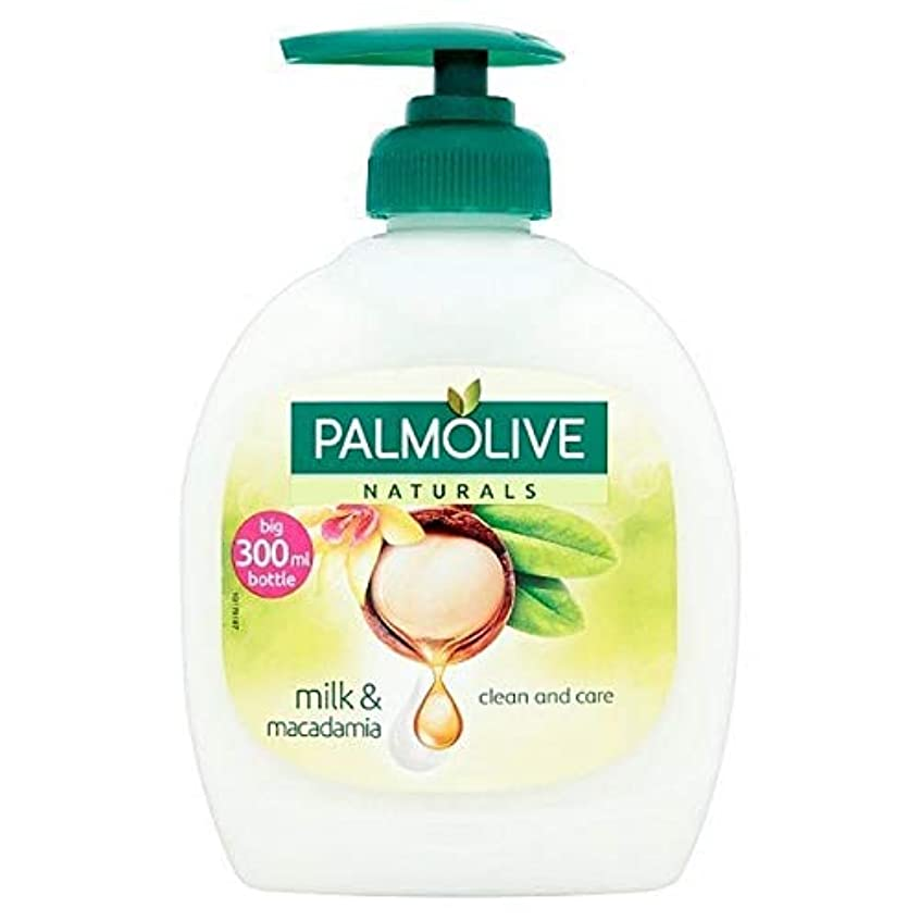 揺れる十億良さ[Palmolive ] パルモライブナチュラルマカダミア&バニラ液体手洗いの300ミリリットル - Palmolive Naturals Macadamia & Vanilla Liquid Handwash 300ml [並行輸入品]