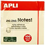 APLI 12078 - Notas adhesivas ZigZag