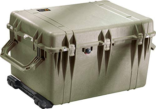 Pelican 1660 OD Green Protective Case With Foam Watertight Hard Case product image