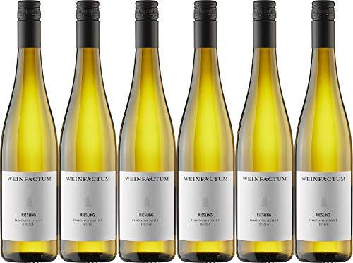Weinfactum Cannstatter Zuckerle Riesling 2018 Trocken (6 x 0.75 l)