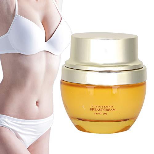 Brustvergrößerung Creme, Brustcreme Bruststraffung und hebende Schönheitscreme Feuchtigkeitsspendende Brustpflege 30g