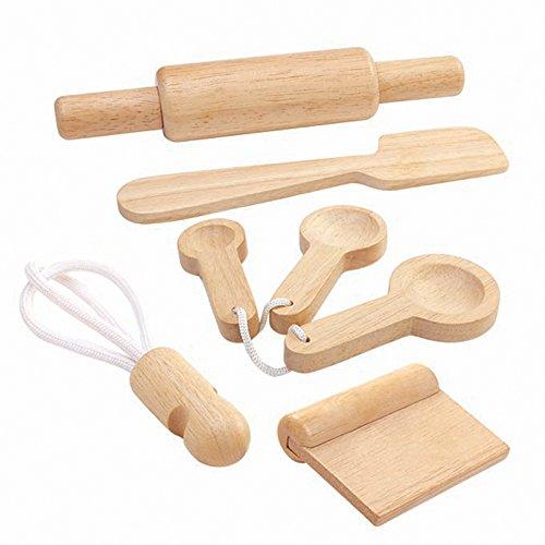 Plan Toys - PT3450 - Cocina - Juego de utensilios de cocina