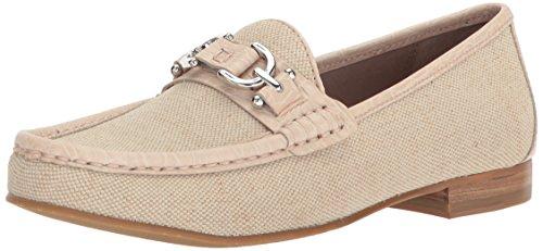 Donald J Pliner Women's Suzy Loafer Flat, Natural, 9.5 Medium US