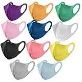 11 Piezas Adulto_Mascarilla con 11 Colores Diferentes Impresos, Secado rápido Reutilizable Lavable...