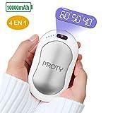 MROTY Chauffe -Mains Rechargeable USB, 10000mAh Chauffe Mains de Proche Electrique, Utilisé comme Batterie...