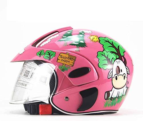 Casco De Motocross Para Niños, Casco De Motocicleta Para Niños, Niños Y Niñas, Bicicleta, Scooter,