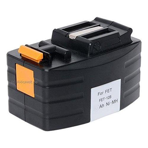 Gereedschap Sila vervangende accu FESTOOL FESTO BPH12T BPH 12T TDD12 Ni-MH 12.0V Accu Batterij Bateria Acku