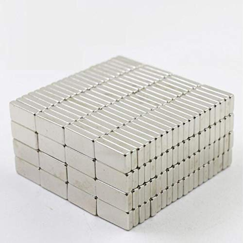 HAOYOYU 50PCS Rectangular Magnet for refrigerators, Crafts, whiteboards, DIY Projects, Office Magnets, Rectangular Magnets (10x5x3mm)