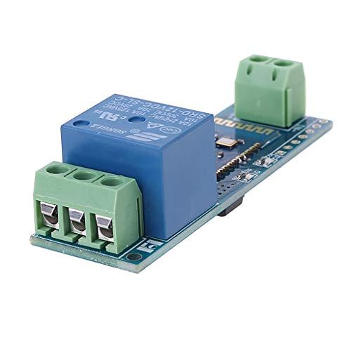 Fagu Módulo Bluetooth de Internet de relé, Control Remoto Inteligente, Interruptor de teléfono móvil, componente de módulo de relé inalámbrico DC12V