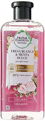 Herbal Essences Bio Renew: Champú con fresa blanca y menta dulce 400ml