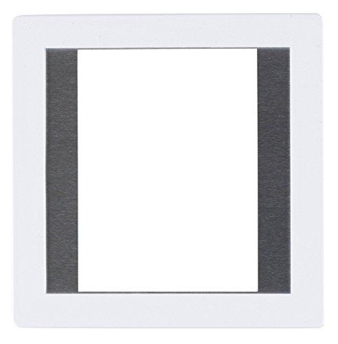 Gepe 45x60 (3mm Thickness)6 x 6cm Medium Format Anti-Newton Glass Slide Mount, 20 Pack (White)