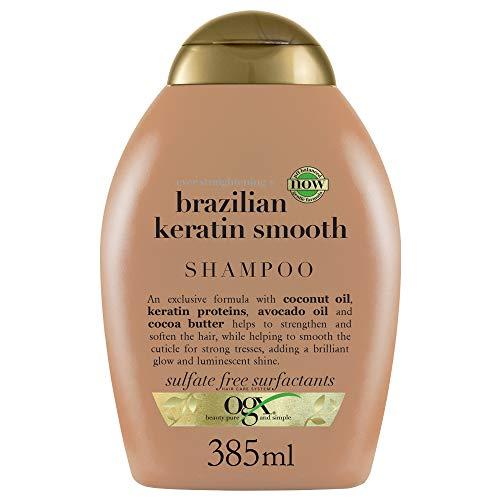 OGX - Champú Keratina Brasileña, 385 ml