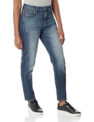 Calça Jeans Saphire Elastic Mom, Ellus, Feminino, Lavagem média, 40